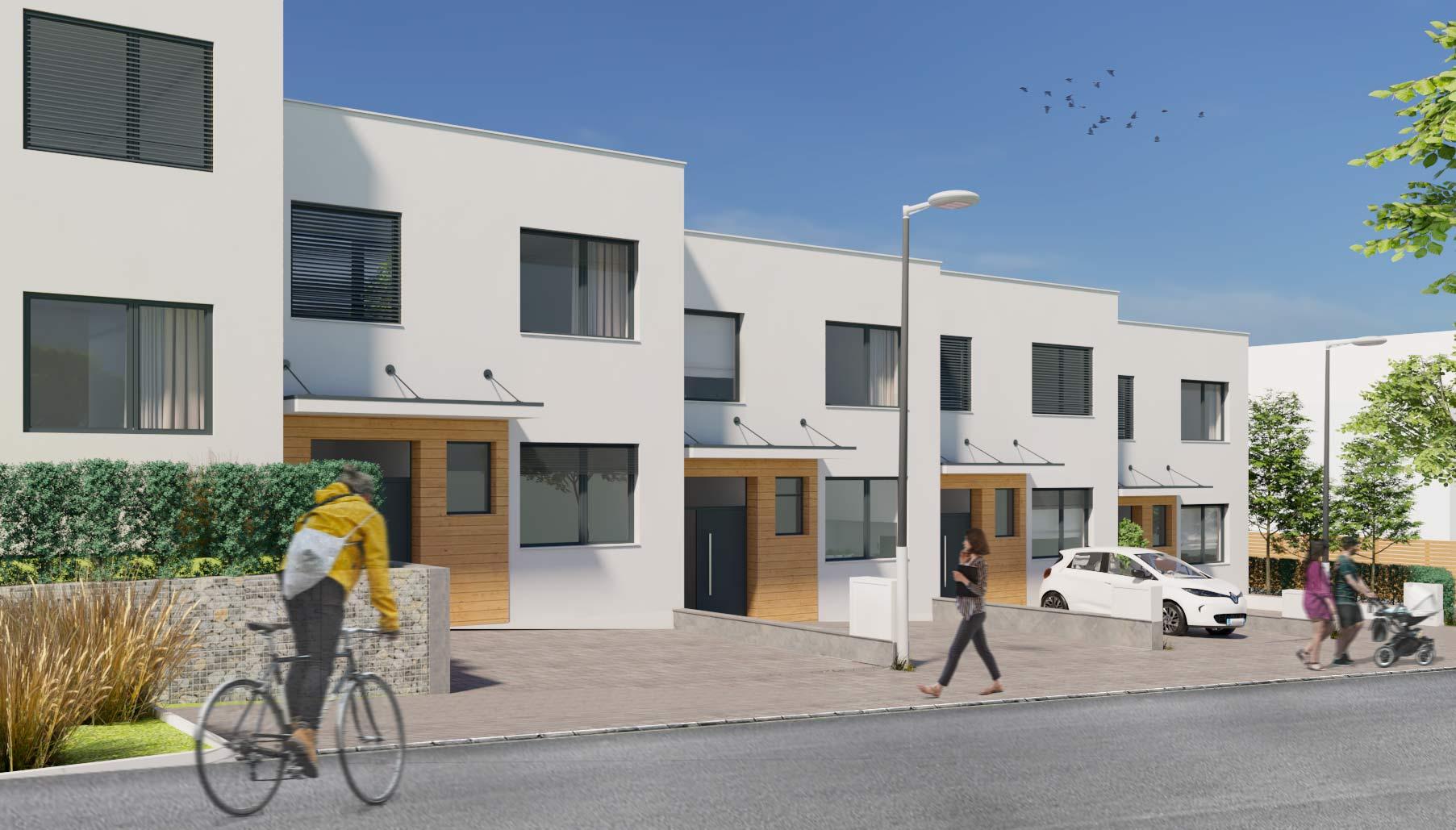 Bydleni Zbysov u Brna Etapa A2 domy Etapa A