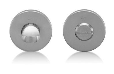 nerezové kování s rozetou, WC kličky