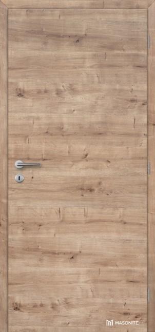 Dveře plné, otvíravé, obložkové zárubně, CPL lamino deluxe,